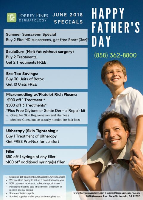 Happy Father's day! Check out our June specials!